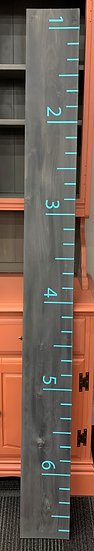 Growth Chart -Gray with blue