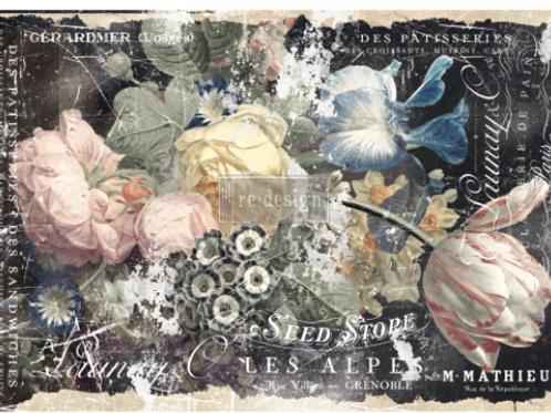 Re-Design Decoupage Paper  -MULBERRY Bridgette