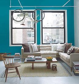 Bold_Blue_Living_Room_with_Hanging_Bike.jpg