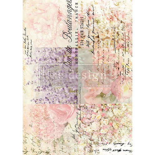 Re-Design Transfer -FLORAL GARDENS