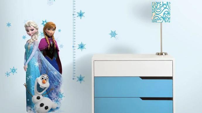 Disney Frozen Growthchart
