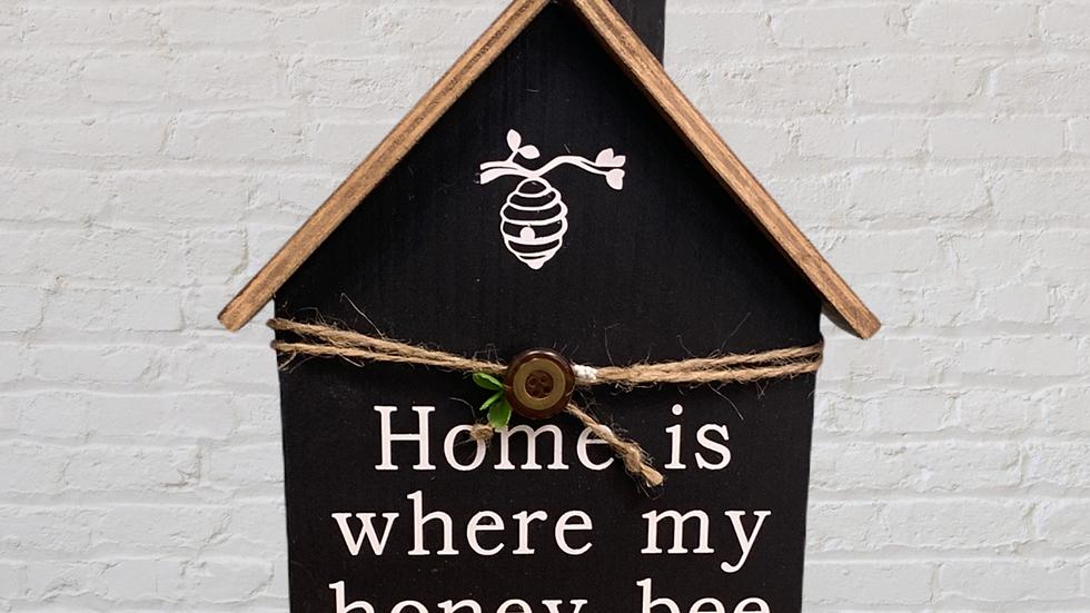 Home is where my honey bee House