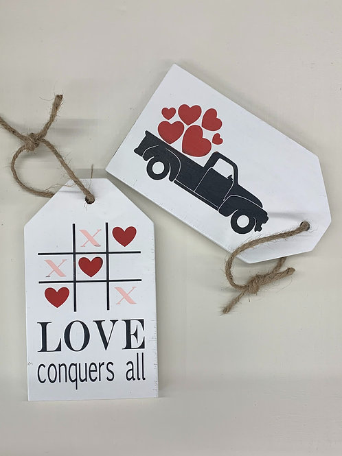 Valentine Small Tag DIY
