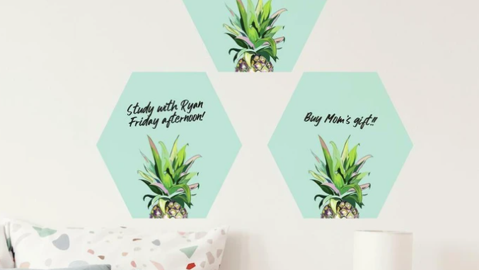 Pineapple Crown Dry Erase