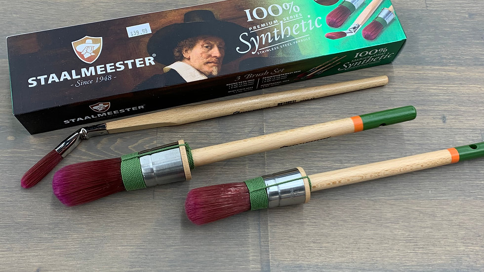 Staalmeester 3 Brush Set