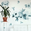 Thumbnail: Watercolor Floral Blue