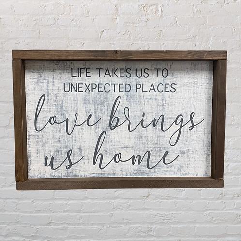 Love Brings us Home 10X16