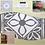 "Thumbnail: DecoArt 18"" Stencil -Lotus Tile"