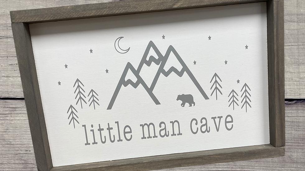 Little Man Cave 10X16