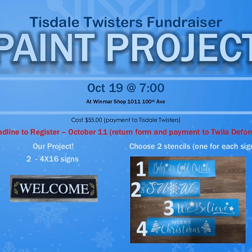Tisdale Twister Gymnastic Fundraiser