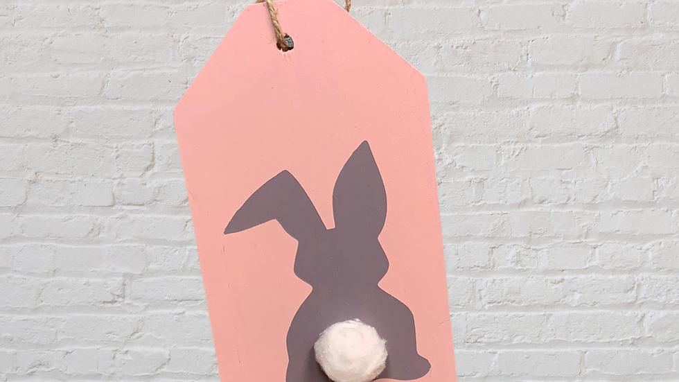Bunny Small Door Tag