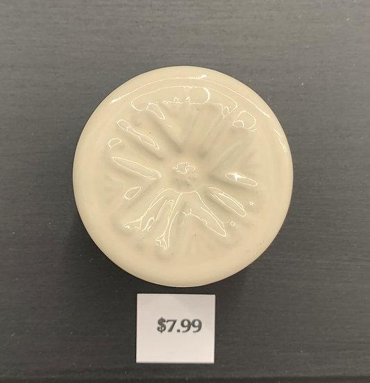 White Ceramic Knob