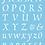 Thumbnail: Alphabet Stencil