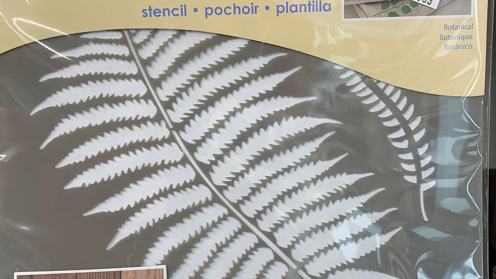 "DecoArt 8"" Stencil -Botanical"