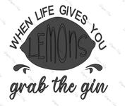 Lemon Gin
