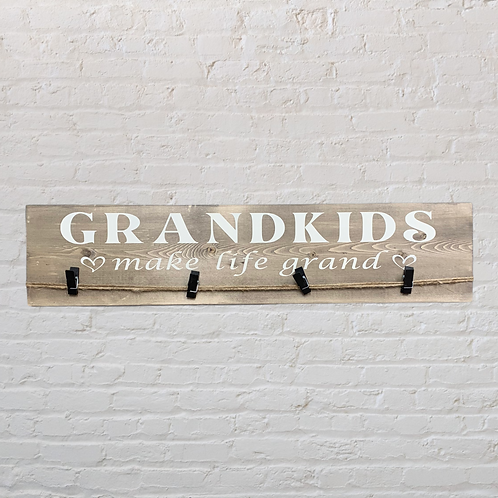 Grandkids make life grand Photo Hanger