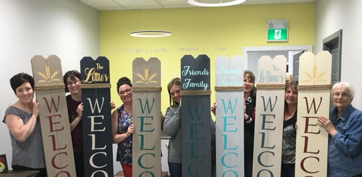 Personalized Welcome Signs