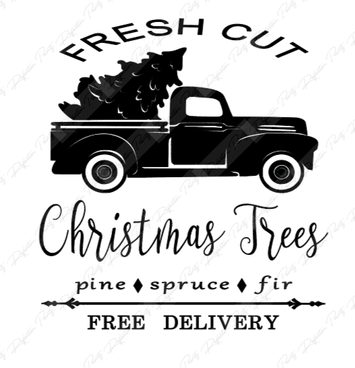 Fresh cut Trees