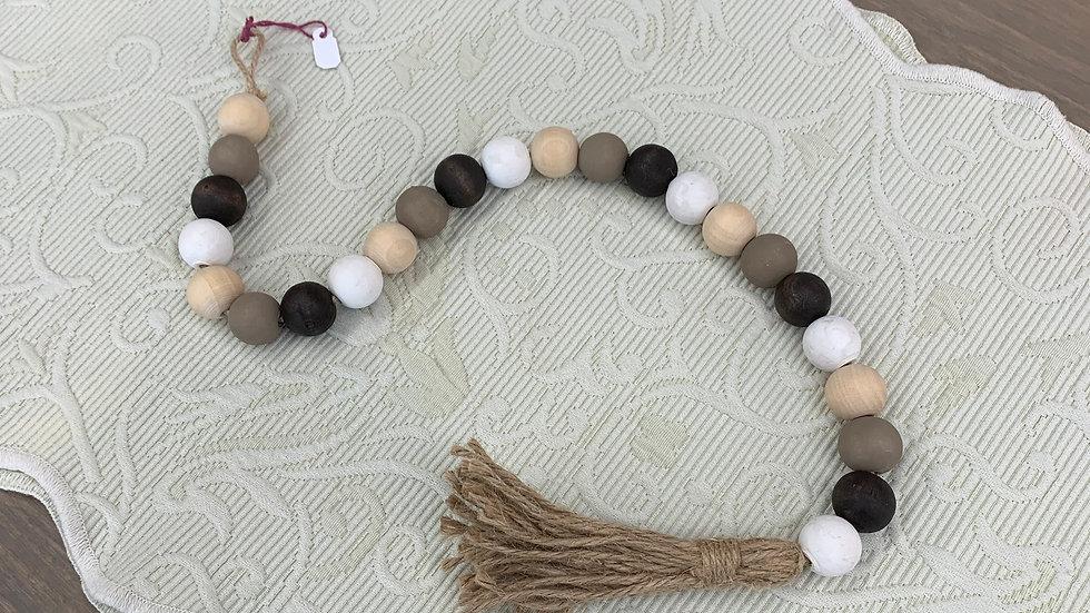Farm House Beads -Brown