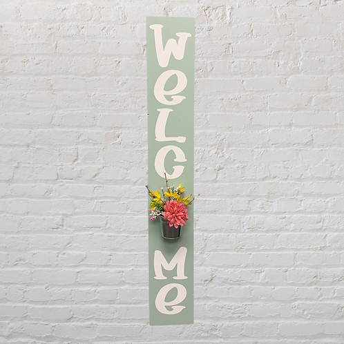 Welcome Sign - Spring Theme