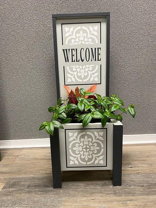 Welcome Porch Planter