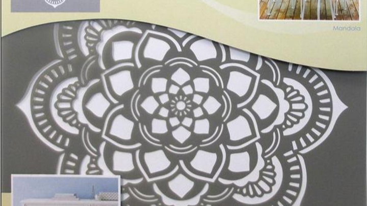 "DecoArt 18"" Stencil -Mandala"