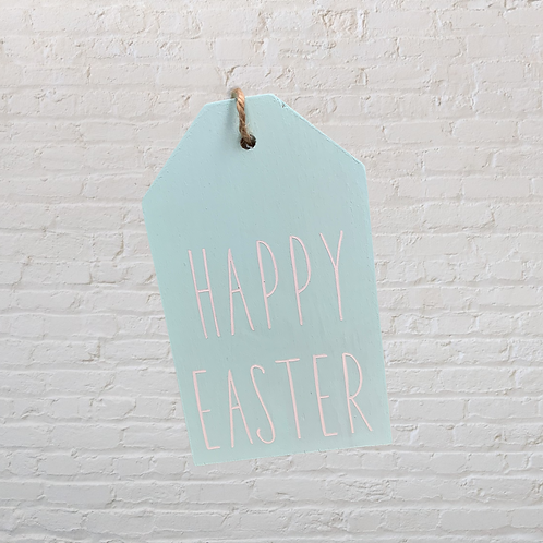 Happy Easter Small Door Tag