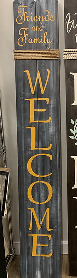 Welcome Sign - Friends & Family