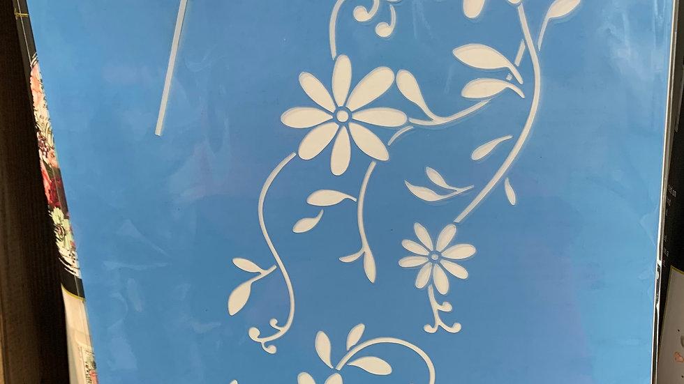 Beautiful Daisies Stencil