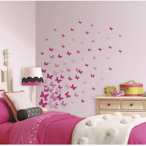 Pink Flutter Butterfly