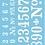 Thumbnail: Numerals Stencil