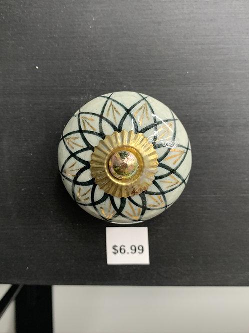 Gold and Black Ceramic