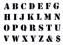A4-Alphabet-Letter-Stencils-for-Wall-Pai