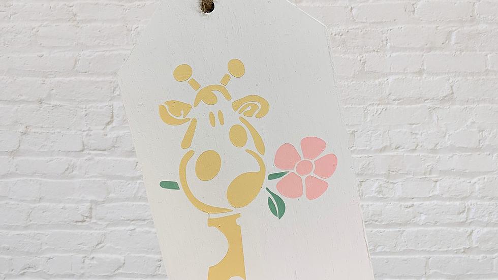 Giraffe Small Tag