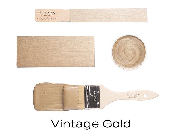 Vintage Gold Metallic