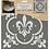 "Thumbnail: DecoArt 12"" Stencil -Fleur de lis"