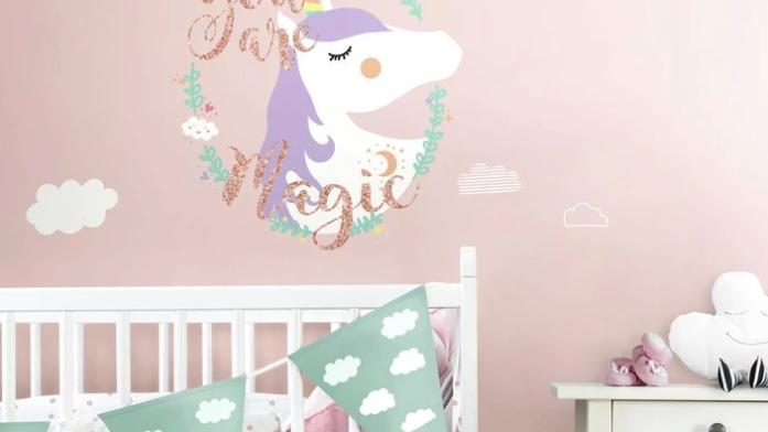 Unicorn Magic with Glitter
