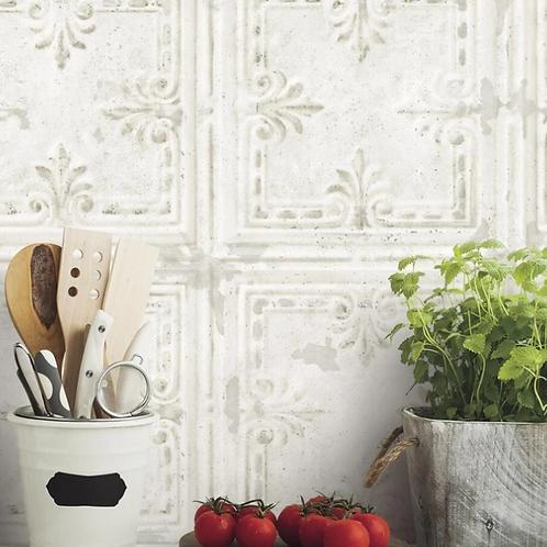 Tin Tile White
