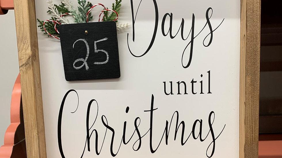 Christmas Countdown 12x12