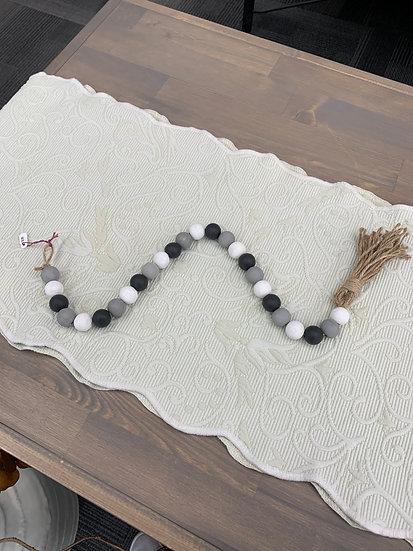 Farm House Beads - Grey