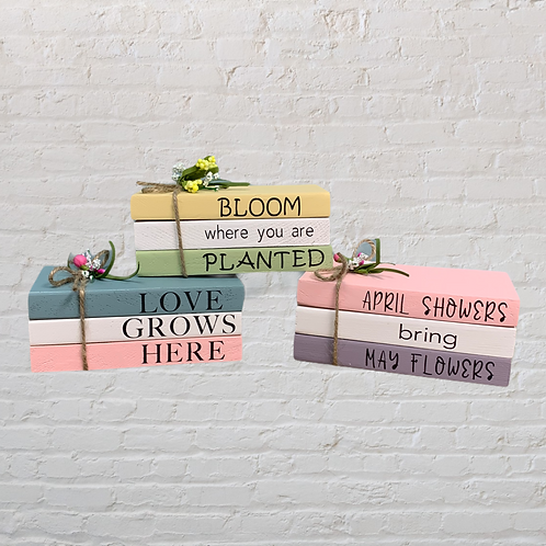 Spring Mini Books