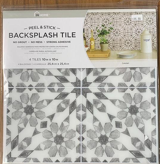 InHome Catalan Peel & Stick Backsplash Tiles