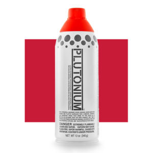 Plutonium Spray Paint - Red Alert 340g