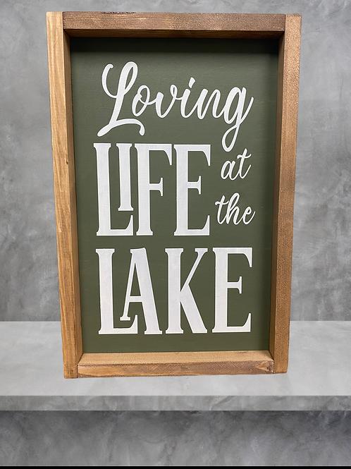 Loving Lake Life 10X16