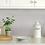 Thumbnail: InHome Metro Brushed Silver Peel & Stick Backsplash Tiles