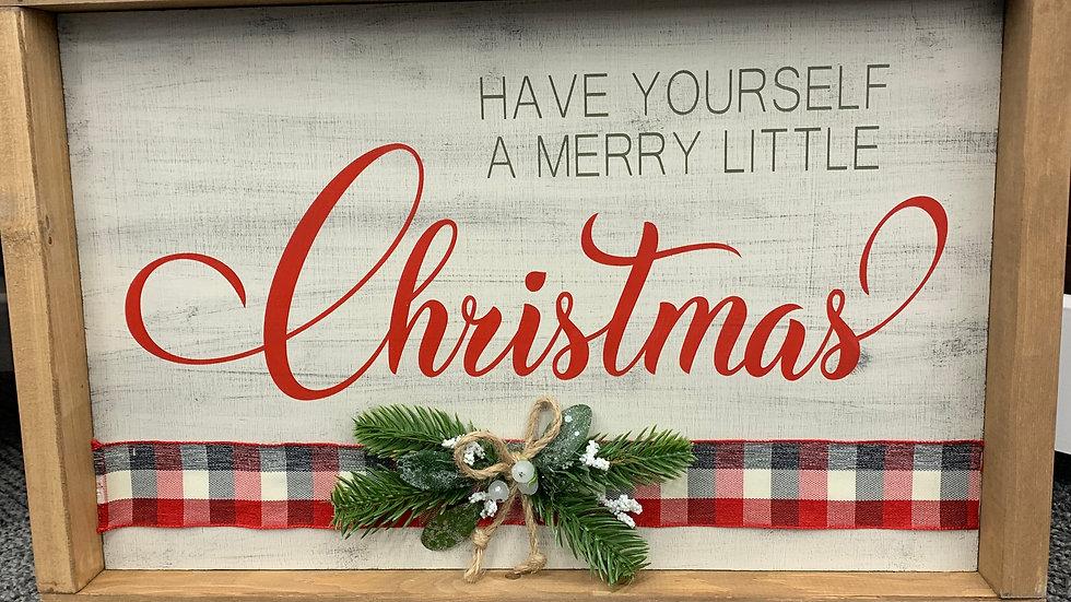 Merry Christmas 10X16