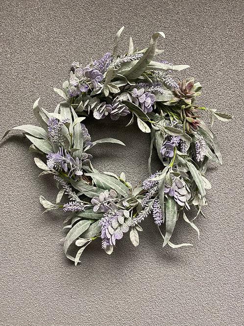 "Lifting Lilac Wreath 20"""
