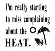 miss complaining