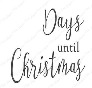 Christmas Countdown P12-126
