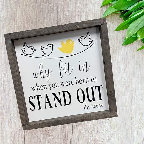 Stand Out 12x12